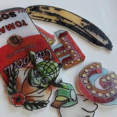 Warhol shrinkies and more....gearing up for Xmas markets in Buckinghamshire  and Hertfordshire