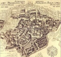 Jewish ghetto at the beginning of the century according to the Langweil model Jewish Ghetto, Prague City, Jewish Art, Second World, City Maps, Judaism, Old Pictures, City Photo, Prague
