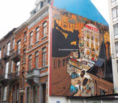 Spotted: The Comic Strip Route, one of the most fun and original ways to discover Brussels and its comics heritage!