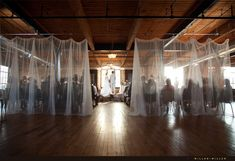 Rustic or warehouse weddings, coupled with elegant feel ... magical!