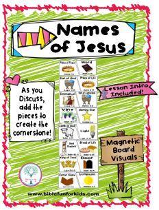 Names of #Jesus Cornerstone Visuals #Biblefun