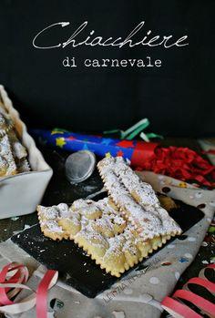 Letizia in Cucina: Chiacchiere di carnevale