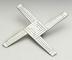 St Bridgets Cross in Pewter comes in a lovely box. St Bridget's Cross, Shape And Form, Pewter, Handmade, Gifts, Shapes, Gift Ideas, Box, Design