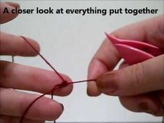 Tatting  ring ,chain , joining picots- YouTube