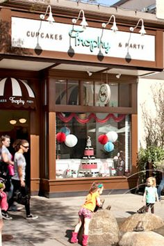 Trophy Cupcakes and Party! Best cupcakes ever! Located in downtown Wallingford.