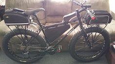 EVO E-Tec OR Adventure Plus Rear Rack for Fat Bikes, Plus Bikes, 29ers, ec.