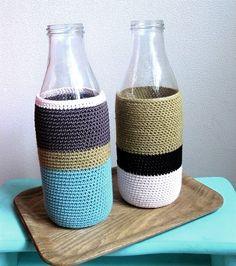 vase crocheté by me