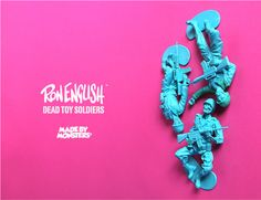 Made by Monsters x Ron English 'Dead Toy Soldiers'