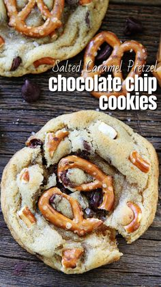 Delicious Cookie Recipes, Sweet Recipes, Baking Recipes, Yummy Food, Easy Recipes, Easy Meals, Pretzel Cookies, Yummy Cookies, Fall Cookies