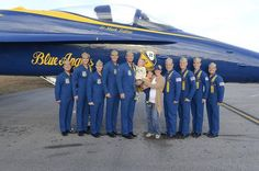 Congratulations to Aaron Harrell '02, pictured with his wife, Leah '02, on completing his 3 year tour as a pilot with the Blue Angels. http://www.anderson.edu
