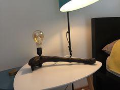 Ungewöhnlich Tischlampe im Used-Look aus einem Weinstock Lamp, Etsy Seller, Etsy