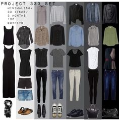 Project- 33 items, 3 months 100 outfits wardrobe challenge minimalist capsule wardrobe neutrals neutral color palette