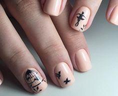 red nail art-white nail art-nail art-nail art designs-nailart-nails (30) - 51 new nail art design - Sade Kadınlar