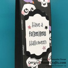 Choc Shot, Moose Crafts, Custom Packaging, 3d Projects, Cute Halloween, Colouring, Color Patterns, Stampin Up, Card Stock