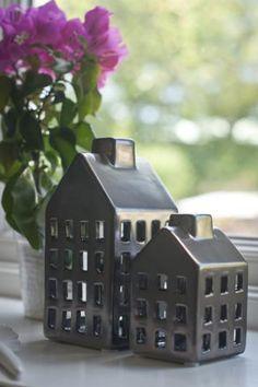 Keramikhus för värmeljus