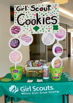Bling out your cookie booth!