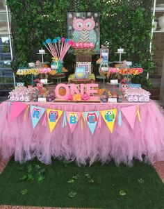 Owls Birthday Party Ideas | Photo 9 of 15 | Catch My Party