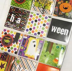 Intercambio de Halloween en Creaciones Izzy - Pocket Letter del Terror.