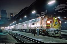 RailPictures.Net Photo: ATSF 16C Atchison, Topeka & Santa Fe (ATSF) EMD F3(A) at Chicago, Illinois by Marty Bernard