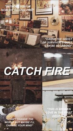 Catch fire - 5 seconds of summer 5sos Quotes, 5sos Memes, Lyric Quotes, Tweet Quotes, 5sos Songs, 5sos Lyrics, 5 Seconds Of Summer Lyrics, 5sos Wallpaper, Broken Love