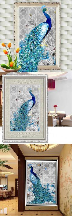 visit to buy 5d diamond embroidery diy diamond painting peacock pictures diamond mosaic christmas