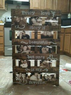 I'm becoming obsessed with things you can do with a pallet!