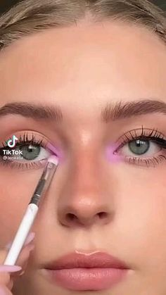 Makeup Eye Looks, Eyeliner Looks, Creative Makeup Looks, Eye Makeup Art, Cute Makeup, Eyeshadow Looks, Pretty Makeup, Skin Makeup, Eyeshadow Makeup