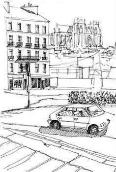 mcmarco: Quelques croquis de Nantes