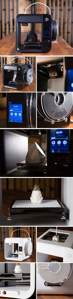Kodama's Obsidian 3D printer is a rather capable printer. It prints at a minimum resolution of 50 microns, and works with a wide range of materials. It also costs the same amount as the 3Doodler pen at $99. Kodama has constantly wowed us with how far they can push the boundaries of 3D printing. The Obsidian printer is conveniently sized (perfect for the creative), and comes in three tiers.