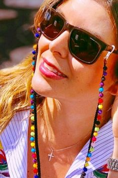 You'll fall in love with our designs, all handmade with love. Don´t worry, you will never loose your sunglasses again. #sunnycords #summerstyle