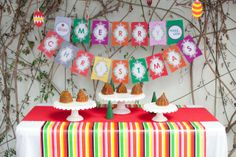 Amazing IKEA Christmas party!  See more party ideas at CatchMyParty.com!  #partyideas #christmas