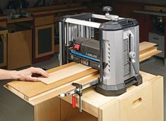 Double-Duty Planer Sled | Woodsmith Plans