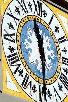 Capri - orologio della Piazzetta