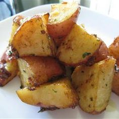 Onion Soup Mix Potatoes-may try this w/ homemade dry Italian dressing