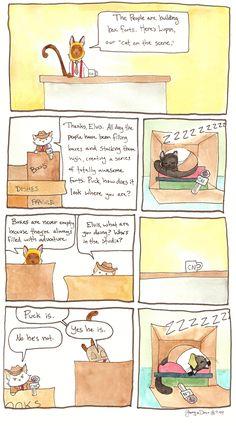 Breaking Cat News Comic Strip, September 10, 2016     on GoComics.com