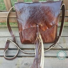 Tasseled Bag   Ready to Ship by BoondockStudios on Etsy, $95.00