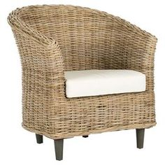 Catherine Wicker Accent Chair