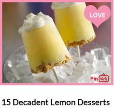 A nice and light lemon dessert can really put a bright finish to any meal. The lemon is a great fruit with the amazing ability to work well with both sweet and savory dishes. But we think that if the lemon could choose its favorite dish to flavour it would certainly be the dessert! A little bit of lemon zest or a spoonful of lemon juice can make all the difference in the world when preparing a dessert.