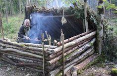 Camping Bushcraft Shelter Longterm