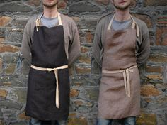 Unisex full reversible apron from high quality by EgleBibiliute,