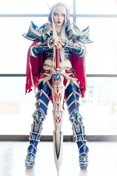 """World of Warcraft cosplay"" I don't play this, because I refuse to get addicted to anything else, but this is beautiful."