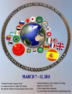 2011 National Foreign Language Week poster
