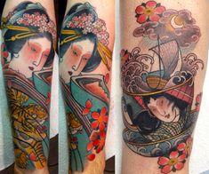 Featured Tattoo Artist: Claudia De Sabe - http://sicktattoos.org/featured-tattoo-artist-claudia-de-sabe/