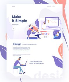 Every day most digital designers look for inspiration on sources like Dribbble or Behance for. Website Design Layout, Website Design Inspiration, Web Layout, Layout Design, Graphisches Design, Web Ui Design, Page Design, Mise En Page Web, Web Design Tutorial