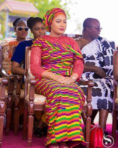 It was an honor to join the Asantehene, Otumfour Osei Tutu II, and the people of Asanteman for this year's Adaekese at the Manhyia Palace,… African Fashion Ankara, Latest African Fashion Dresses, African Print Dresses, African Print Fashion, African Dress, African Wedding Attire, African Attire, African Wear, African Girl
