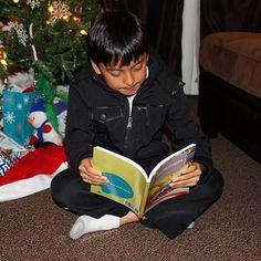 More Cornucopia reading by the tree! Thanks for the pic AJ! What are you reading this season? Like this if it's Cornucopia . #holidays #holidayseason #kids #bepresent #childrensbooks #scholastic #frisco #friscotx #book #books #childrensbook #poetry #poems #childrenspoems #momlife #teacherlife #mom #teacher