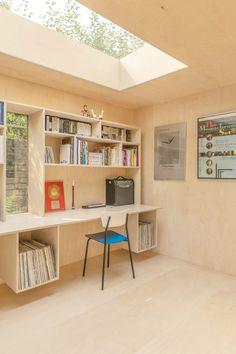 60 Ideas Home Studio Interior Backyard Office, Backyard Studio, Garden Studio, Garden Office, Interior Design Studio, Home Office Design, House Design, Loft Design, Studio Shed