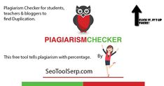 Plagiarism Checker For Students, Free Seo Tools