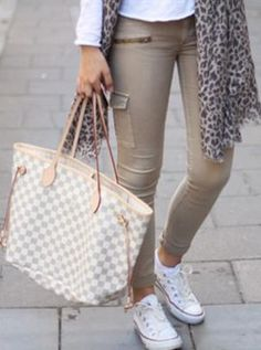 Louis Vuitton Damier Azur Canvas Neverfull Bags GM N51108...my bag!