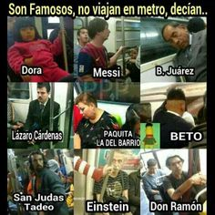 The Mexico City Metro is very useful, but if you& ever tried to climb Pantitlán a Friday at 7 pm understand why if there was an epidemic of zombies would be the first to die. Funny Photos, Funny Images, Funny Jokes, Hilarious, Funny Minion, Funny Gifs, Mexican Memes, Mexican Quotes, Humor Mexicano